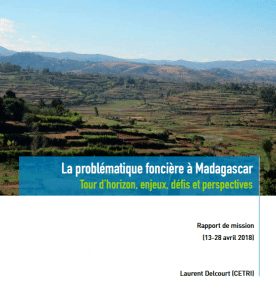 Rapport: La problématique foncière à Madagascar
