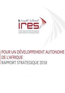 Rapport sur la vision du Maroc du développement autonome de l'Afrique