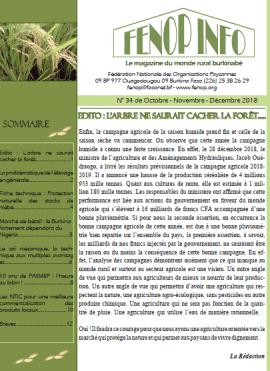 Bulletin FENOP Infos N°34