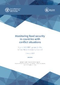 Rapport : Monitoring food security in countries with conflict situations