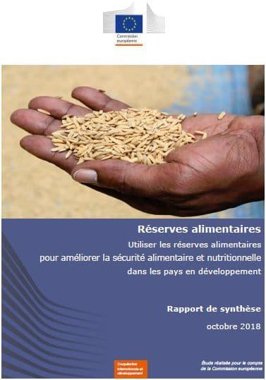 Etude : Sécurité alimentaire : le rôle des réserves alimentaires réhabilité