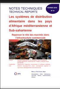Notes techniques - Les systèmes de distribution alimentaires dans les pays d'Afrique méditerranéenne et sub-saharienne