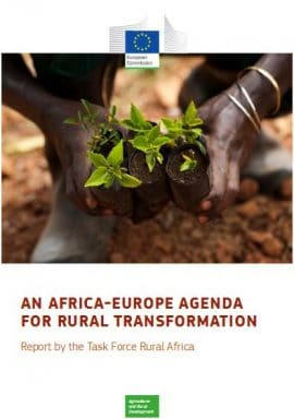 Report : An Africa-Europe agenda for rural transformation