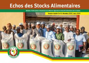 Echos des stocks alimentaires : Numéro double 5-6 du Bulletin d'information trimestriel de la Réserve régionale de sécurité alimentaire de la Cedeao