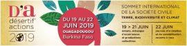 Désertif'actions 2019 : Sommet international de la société civile