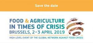 Conférence sur l'alimentation et l'agriculture en temps de crise