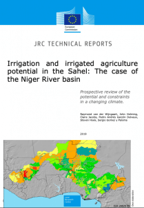 Report : Irrigation and irrigated agriculture potential in the Sahel - The case of the Niger basin