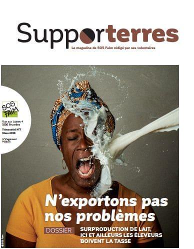 Revue Supporterres n°7 : Spécial lait - N'exportons pas nos problèmes