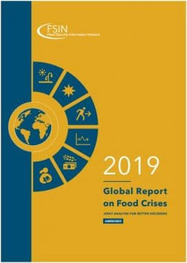 Global Report on Food Crise 2019 - RPCA