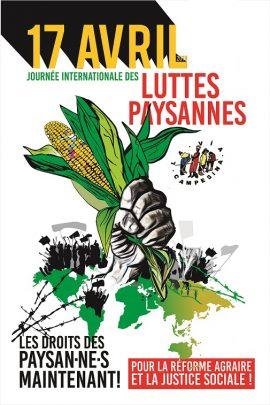 Journée internationale des luttes paysannes 2019