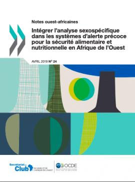 Note : Intégrer l'analyse sexospécifique dans les systèmes d'alerte précoce pour la sécurité alimentaire et nutritionnelle en Afrique de l'Ouest