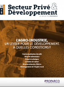 Revue : L'agro-industrie