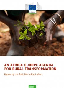 """Rapport de la Task force """"Afrique rurale"""" de la Commission de l'UE"""