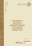 Cahiers du Pôle Foncier : Concurrences spatiales