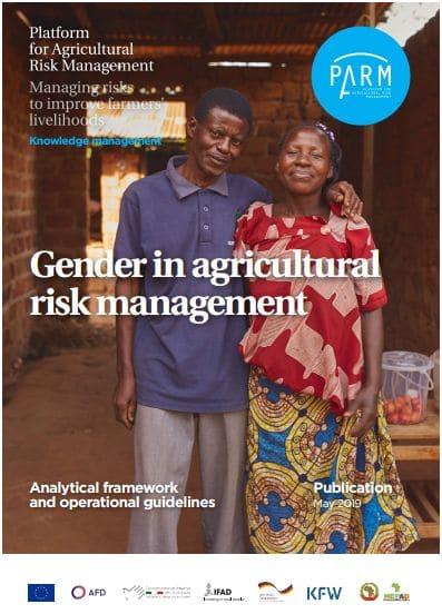 Guideline : Gender in agricultural risk management