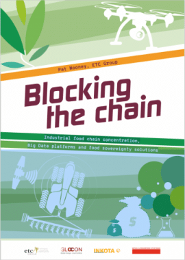 Report: Industrial food chain concentration