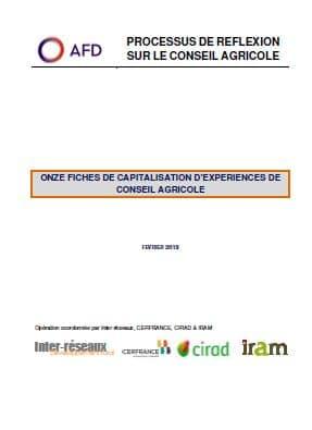 Fiches de capitalisation : Le conseil agricole