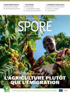 Revue Spore n°193 - Jeunes & emploi : L'agriculture plutôt que l'émigration