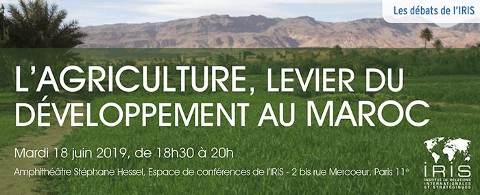 Conférence : L'agriculture, levier du développement au Maroc ?