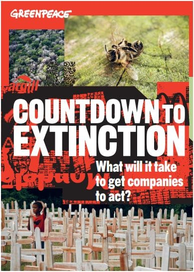 Rapport : Countdown to extinction - what will it take to get companies to act?