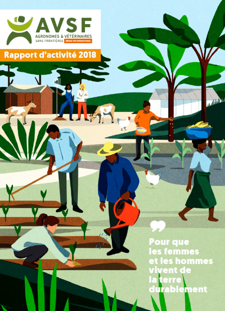 Rapport d'activité 2018 - AVSF