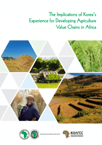 Rapport - Le développement agricole de la Corée : un modèle pour l'Afrique ?