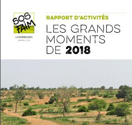 SOS Faim Luxembourg : rapport d'activités 2018