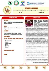 Bulletin : Échos du Praps n° 14 - juillet 2019