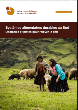 Note de position - Systèmes alimentaires durables au Sud