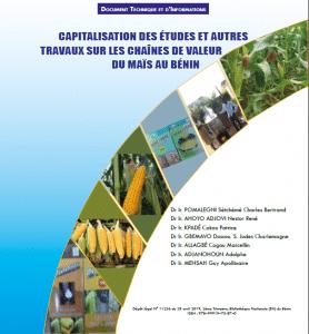 Document technique - Capitalisation des études sur les chaînes de valeur du maïs au Bénin