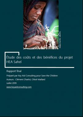 Etude - Coûts et bénéfices du projet HEA au Sahel