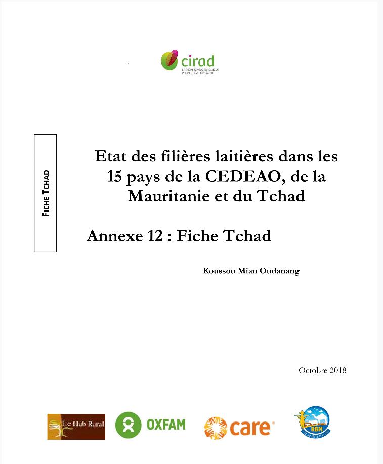 Documents - Offensive régionale pour la promotion des chaines de valeur du lait local en Afrique de l'Ouest