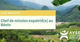 AVSF recrute au Bénin