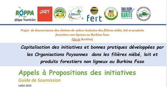 Gouvernance des chaines de valeur au Burkina Faso : Le ROPPA lance un appel à projet