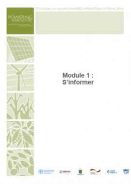Boîte à outils pour les systèmes d'irrigation à énergie solaire (SPIS)
