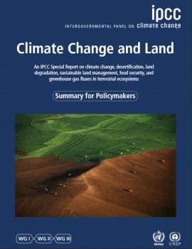 Rapport du GIEC : Changement climatique et terres émergées