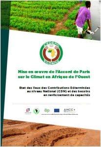 Rapport : Mise en œuvre de l'Accord de Paris  sur le Climat en Afrique de l'Ouest