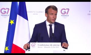 Actualité : G7 et Sahel
