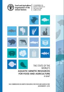 Rapport - Etat des ressources génétiques aquatiques mondiales pour l'alimentation et l'agriculture