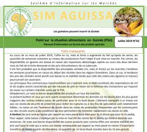 Bulletin PSA - AGUISSA Juillet 2019