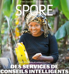 REVUE SPORE N°194 - Digitalisation et vulgarisation : Des services de conseils intelligents