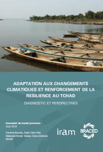 Rapport: Adaptation au changement climatique et renforcement de la résilience au Tchad