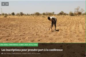 Deuxième conférence scientifique internationale sur le changement climatique