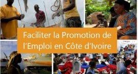 Rapport: Faciliter la promotion de l'emploi en Côte d'Ivoire