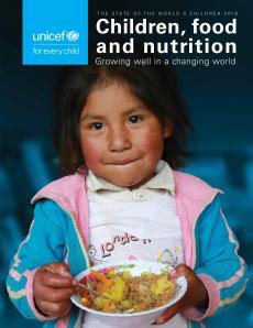 Rapport: Enfants, nourriture et nutrition