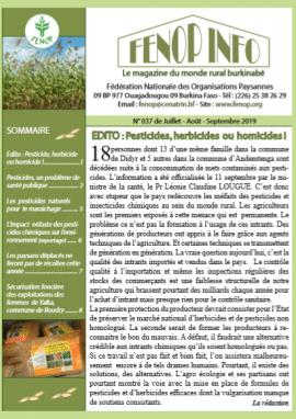 Bulletin Fenop Infos N°37