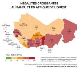 Maps & Facts : Inégalités croissantes au Sahel et en Afrique de l'Ouest