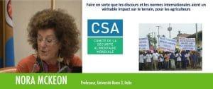 Vidéo : Petits producteurs et gouvernance globale (Nora McKeon)