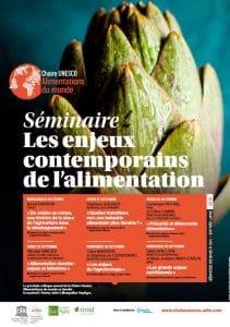 Séminaire : Les enjeux contemporains de l'alimentation