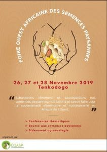 Foire Ouest Africaine des Semences Paysannes (FOASP)